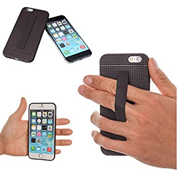 Amazon.com: TFY iPhone 6 / 6S Case Cover with Hand Strap Holder: MyTradeWorld