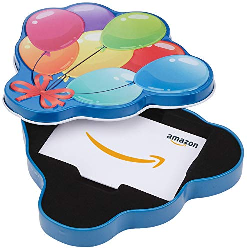 Amazon.com Gift Card in a Birthday Gift Box (Various Designs)