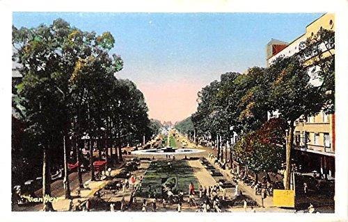 Place Francis Garnier Saigon Vietnam, Viet Nam Postcard