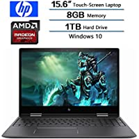 2018 Newest HP Flagship Envy x360 2-in-1 Laptop, 15.6 Full HD Touchscreen Display, AMD FX-9800P Procressor, 8GB DDRR4 SDRAM, 1TB Hard Drive, AMD Radeon R7, Windows 10
