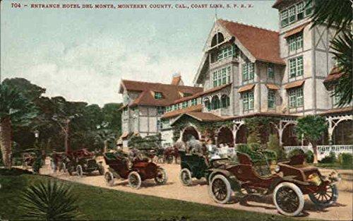Monterey Entrance - Entrance Hotel Del Monte Monterey, California Original Vintage Postcard
