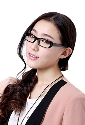 Starsource Unisex Fashion Anti-reflective/Anti-glare/Uv Protection/Clear Lens Plain Computer Eyewear Eye Glasses Read Eyeglasses-No - Dye Hinge Frame