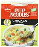 Nissin Cup O'Noodles Ramen Noodle Soup, Chicken Flavor, 2.25-Ounce (Pack of 12) Review