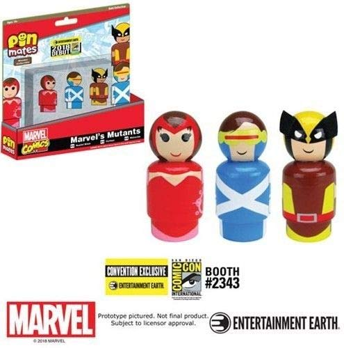 Mutant Earth - Entertainment Earth Marvel's Mutants Pin Mates Set of 3 - Convention Exclusive