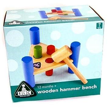 Phenomenal Early Learning Centre Wooden Hammer Bench By Elc Amazon Creativecarmelina Interior Chair Design Creativecarmelinacom