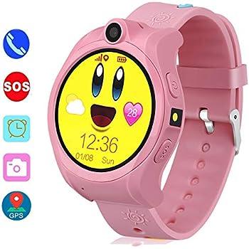 Amazon.com: Kids Smart Watch Phone, LBS/GPS Tracker Smart Watch for ...