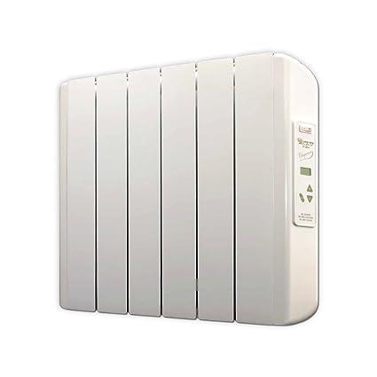 farho Eco X - Radiador Eléctrico de bajo Consumo 750 W Digital Programable - Emisor Térmico