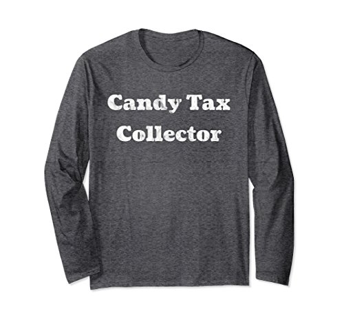 Unisex Funny Candy Tax Collector Trick Or Treat Easter Shirt