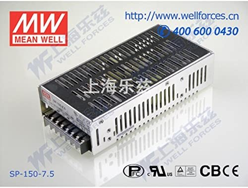 PFC 150W 7.5V 20A Meanwell SP-150-7.5 Power Supply