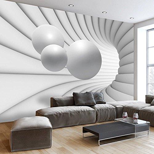 Vlies Fototapete 350x245 cm - 3 Farben zur Auswahl - Top - Tapete - Wandbilder XXL - Wandbild - Bild - Fototapeten - Tapeten - Wandtapete - Wand - Kugel Abstrakt 3D a-A-0154-a-c