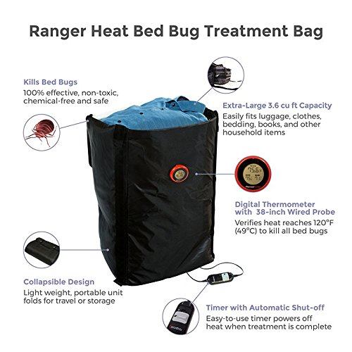 Ranger Portable Bed Bug Extermination Treatment Bag Amazoncouk