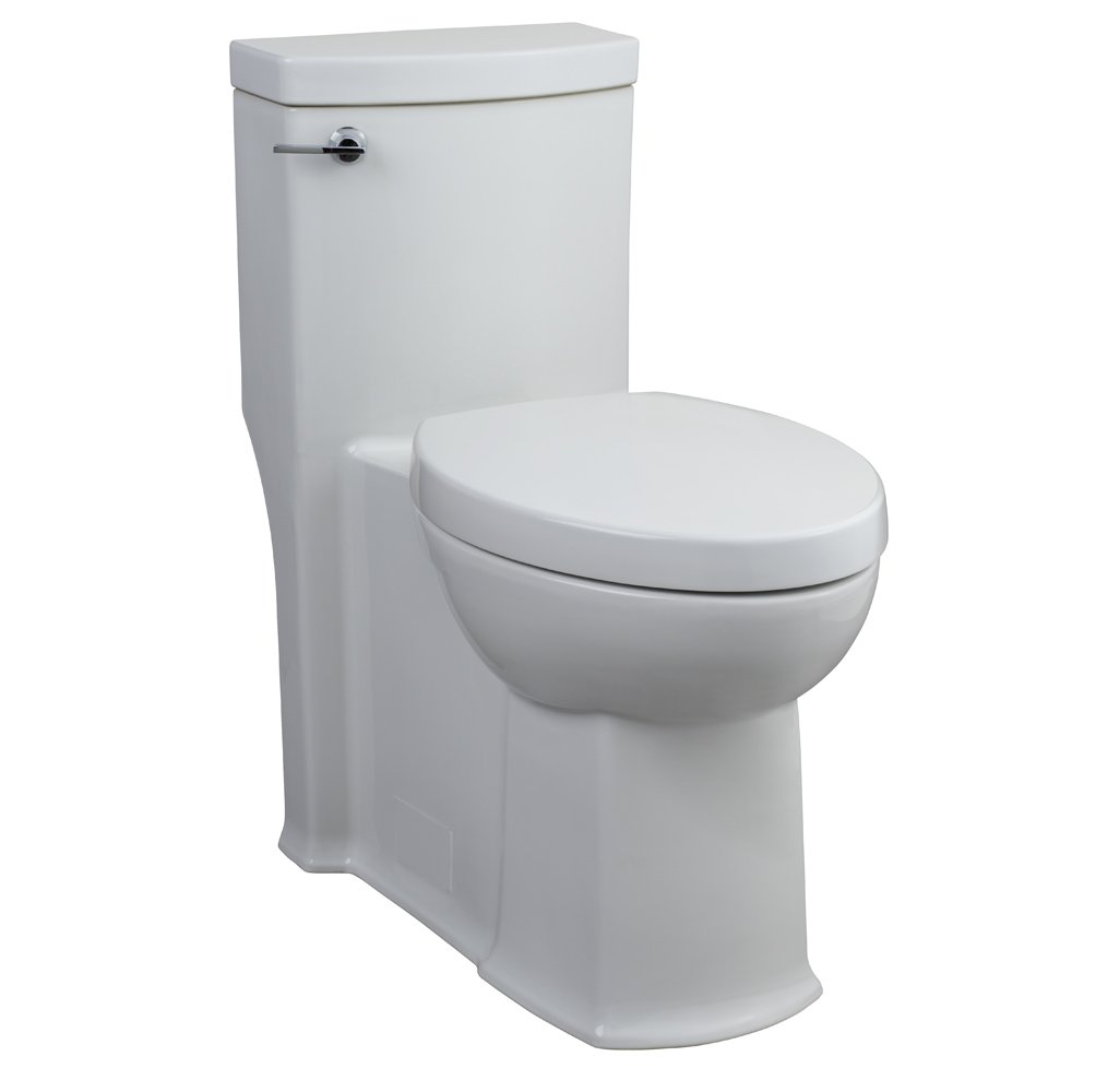 American Standard 2891.016.020 Boulevard One Piece Right Height Elongated Toilet, White