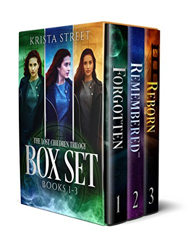 Forgotten memories. Supernatural abilities. Mysterious tattoos. 3-in-1 BOXED SET ALERT!  The Lost Children Trilogy Complete Box Set: Forgotten, Remembered, Reborn (Books 1-3) by Krista Street
