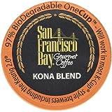 San Francisco Bay One Cup, Kona Blend, 80 Single Serve Coffees