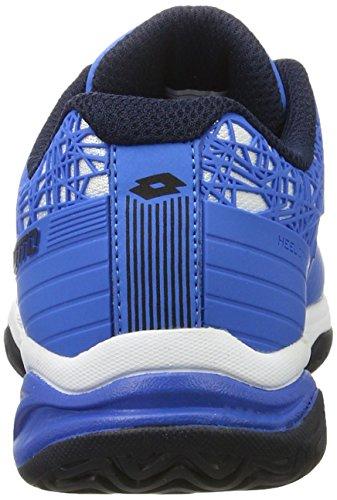 Lotto Viper Ultra Jr L, Zapatillas de Tenis Unisex Niños Azul (Blu Atl/blu Avi)