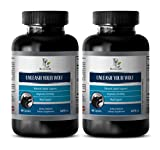 testosterone booster for men sex - UNLEASH YOUR WOLF - EXTRA STRENGTH - tongkat herbs strength ali - 2 Bottles (120 Capsules)