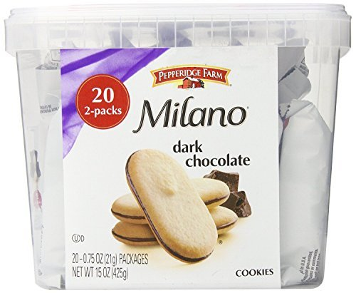 : Pepperidge Farm Milano Cookie Tub, 20 2pks, 15 Ounce