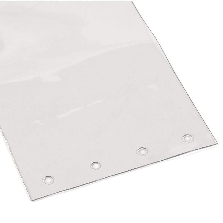 Coolers /& Warehouse Doors 18 x 5000 cm 7.1 x 164 Freezers Plastic Strip PVC Plastic Door Strips for Walk in Shopping Mall
