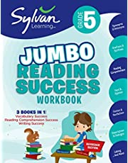 5th Grade Jumbo Reading Success Workbook: 3 Books in 1-- Vocabulary Success, Reading Comprehension Success, Writing Success; Activities, Exercises & Tips to Help Catch Up, Keep Up & Get Ahead
