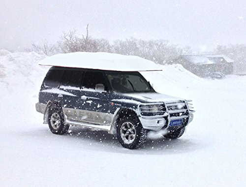 LANMODO Car Tent, Automatic Car Umbrella with Anti-UV, Water-Resistant, Proof Wind, Snow, Storm, Falling Objects Features, Fit to All Cars (BLACK/SILVER/BLUE) by Lanmodo (Image #7)