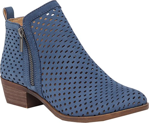 Chambray Boot Dark Women's Brand Basel Lucky twxO8XAn
