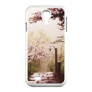 ZK-SXH - Cherry blossoms Custom Case Cover for SamSung Galaxy S4 I9500, Cherry blossoms DIY Cover Case