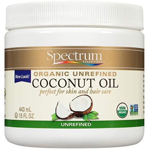 Spectrum Essentials Organic Coconut Oil, Unrefined, 15 Oz