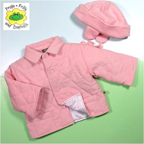 Courduroy Girls jacket and hat, 9-12 Months