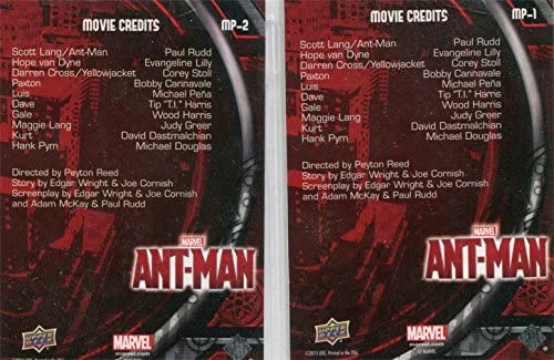 Antman The Movie Movie Posters Chase Card MP-1