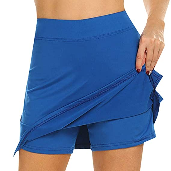 Overdose Pantalon Corto Mujer Vestir Faldas Activas para Mujer ...