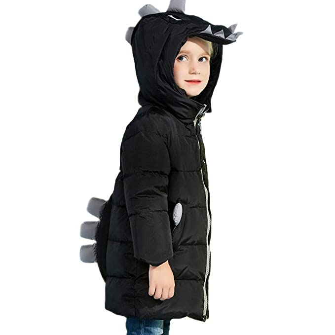 RSTJ-Sjc Chaqueta cortavientos para niños, ropa de abrigo para el viento, estilo lindo Outwear largo, abrigo de invierno con relleno de pato: Amazon.es: ...