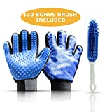 Best Cat Hair Glove: Auto Detailing Car Furniture Upholstery Brush for Pet Dog Hair Removal: Deshedding Mitt: Grooming Tool: Lint Fur Remover
