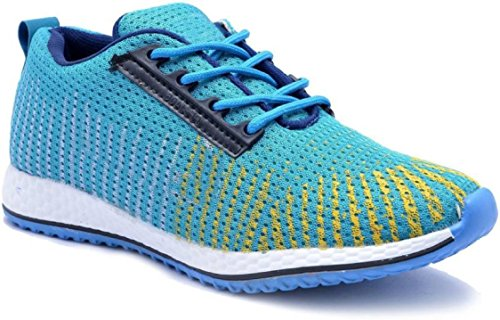 AADI Men's Blue Mesh Sports Shoes- Buy