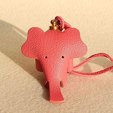 Amazon.com: Mct12-1 - Llavero con colgante de elefante de la ...