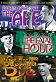 The Ape/Doomed To Die/The Fatal Hour [DVD]
