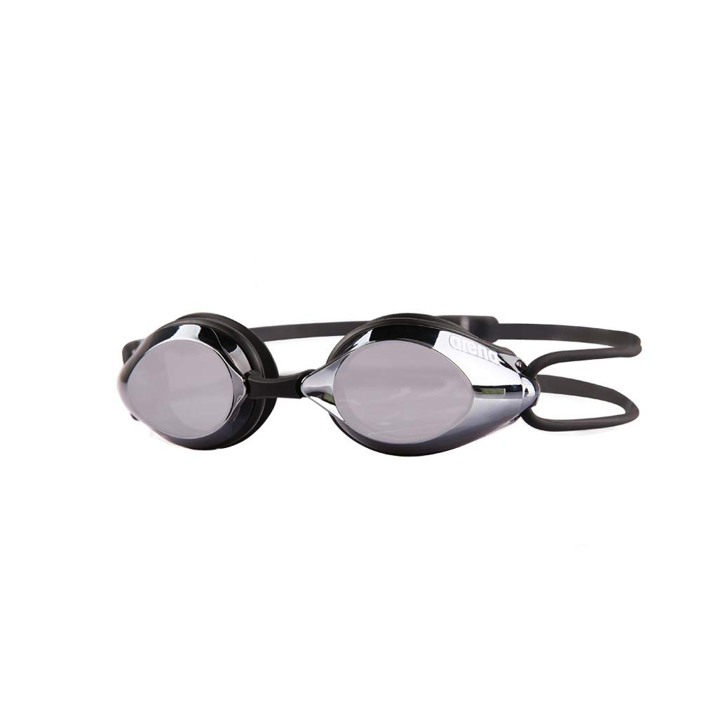 BLACK Goggles, Men and Women Universal Waterproof Swimming Goggles HD AntiFog Swimming Glasses Adult Goggles