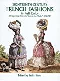 Eighteenth Century French Fashion Plates in Full Color, , 0486243311