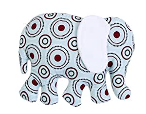 Nattou Sweet Africa - Cojín con forma de elefante azul