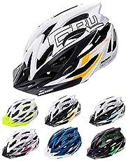 meteor® fietshelm heren dames kinderhelm MTB scooter helm helmet voor downhill scheidingshelm mountainbike inliner skatehelm BMX fietshelm jongens meisjes Fahrradhelmet bike Gruver