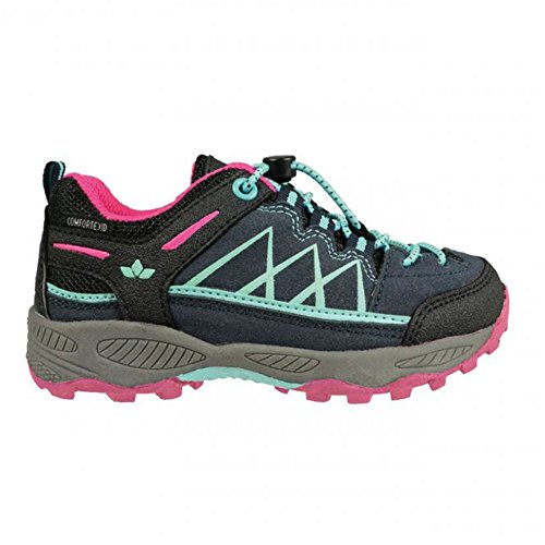 Lico Griffin Low, Zapatos de High Rise Senderismo Unisex Adulto Marine/Türkis/Pink