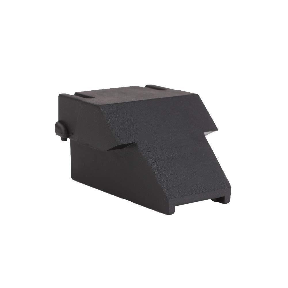 SHUNYUS Clip Adaptateur, Adaptateur Mini-Clip Shell Chasse Chasse en Caoutchouc Durable Bloc Cqb Clip pour 12Ga Mossberg 500, 590, 590A1, Maverick 88 Modèles