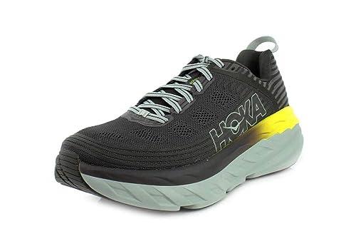 39d3146dc914a HOKA Bondi 6, Men's Running Shoes, Grey (BlackOlive/Pavement), 10 UK ...
