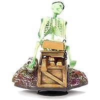 Bargain World Esqueleto en el cofre del tesoro