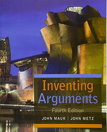 Inventing Arguments (Inventing Arguments Series)
