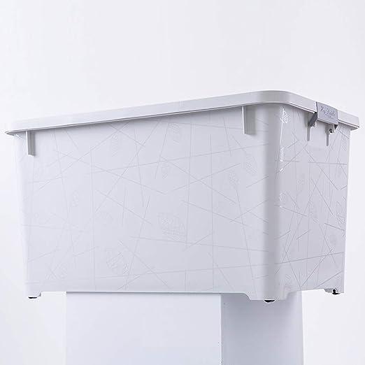 RFJJAL Caja de Almacenamiento con Tapa para el hogar y la Oficina ...