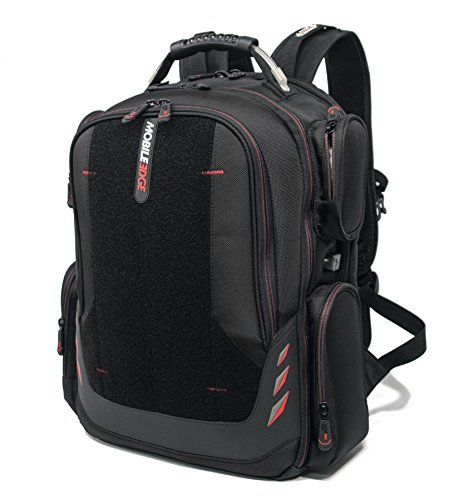Mobile Edge - Core Gaming Backpack with Velcro Front Panel 17