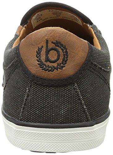 F48666 Basses Cognac Noir Homme Bugatti Schwarz Sneakers vqP1AnwTF