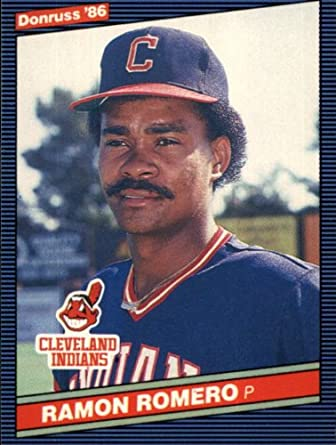 Amazoncom 1986 Donruss Baseball Card 495 Ramon Romero Mint