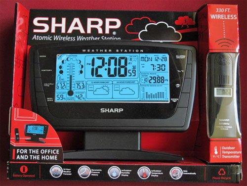 Sharp Atomic Wireless Weather Station