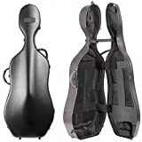 BAM France - New Tech Voyager Cello Case with Black Exterior and Black Interior 1002T